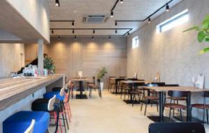 店舗完成見学会 亀山市  カフェ店舗設計