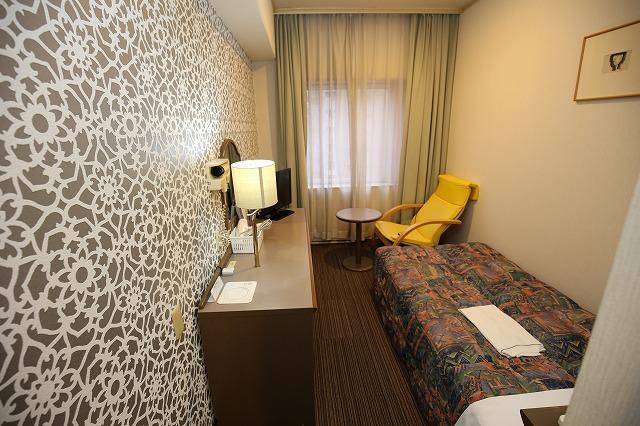 シングルルーム ビジネスホテルデザイン