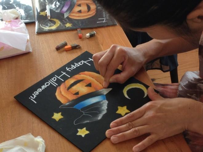 ハロウィン♪かわいいかぼちゃを書きます!