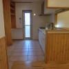 キッチンは木の暖かさを残しながらも、機能的で防水性にも対応したものにしました。