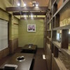 客席も天井がなく、通路側との仕切りも格子にすることで、開放的な雰囲気になりました。