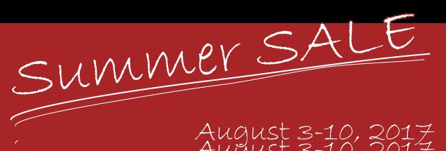 APOAの2017年サマーセールは8月3日から10日まで