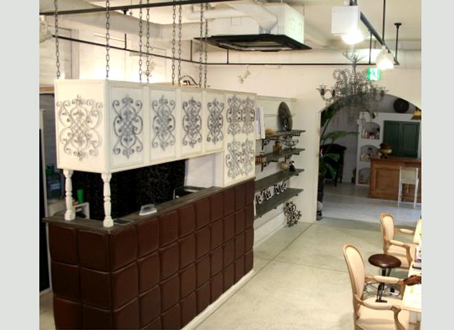 アイアンが印象的な美容室 松阪市 Cashe`e