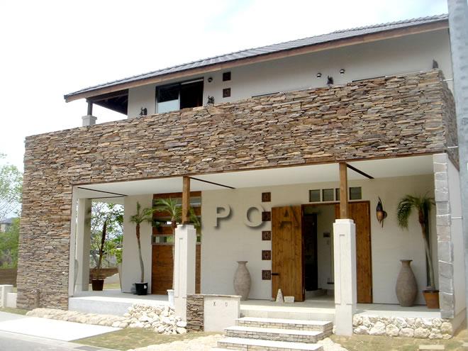 バリのリゾートホテル(ビィラ)住宅にイメージ~K様邸
