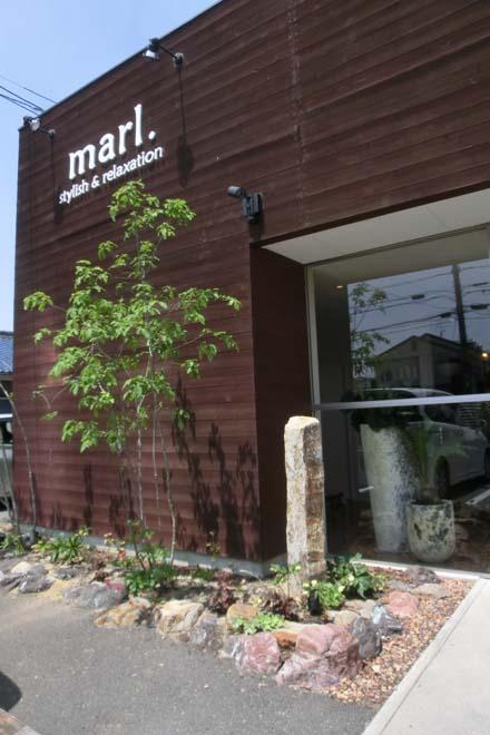 三重県鈴鹿市 やさしい色合いとナチュラルな風合い美容室marl