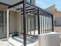 ガーデンルーム ジーマプラステラス完成 津市の詳細はこちら